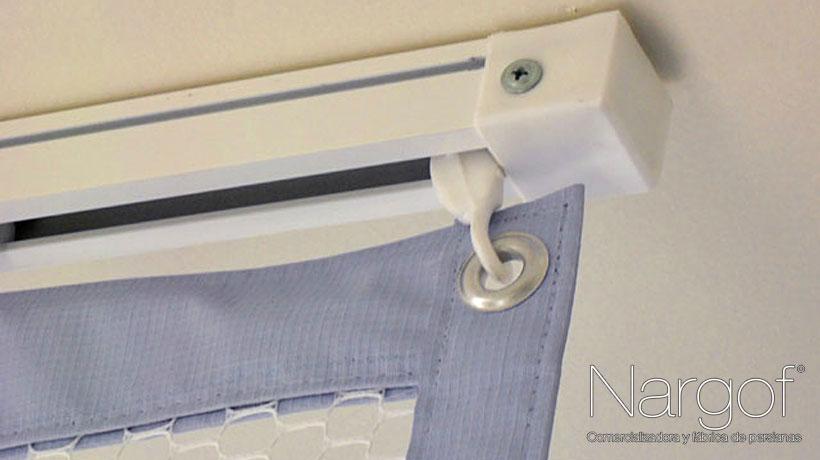 accesorios para montaje de cortinas antibacterianas como